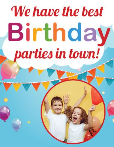 Birthday Parties at Palm Beach Gardens