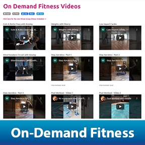 On Demand Fitness Videos